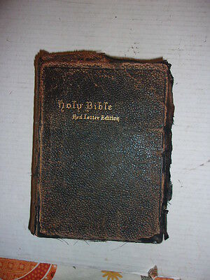 Holy Bible Red Letter Edition 1902