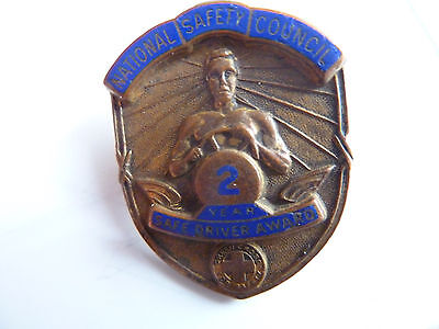 National safety coucil Green cross Safe driver Award 2 year!!!