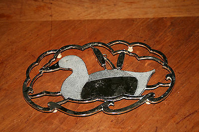 Vintage Trivet Duck Wall Hanging Kitchen Table Hot Plate Made In Japan