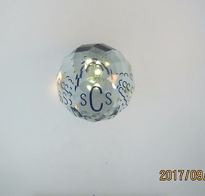 Swarovski Collector Society Faceted Crystal Paperweight