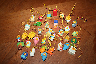 Winnie The Poon Hanging Decorations On String Small Soft Rubber Tree Decorative