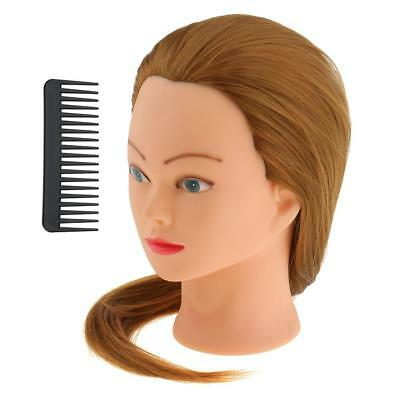 Salon Cosmetology Hairdresser Hairdressing Practice Training Mannequin Head