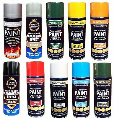 Canbrush spray paint for metal plastic and wood picclick uk for Exterior spray paint for plastic