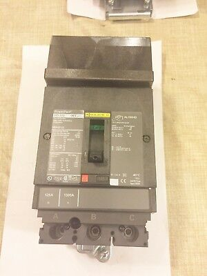 New Square D Hda36125 Circuit Breaker 125A 3P 600V  Best Price Free Shipping