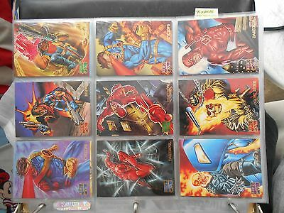 95 Marvel Masterpieces Base Set Single Cards (Pick Two) NM
