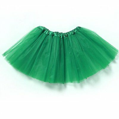 Girls Kids Dance Fluffy Tutu Skirt Tutu Pettiskirt Ballet Dress Fancy Costume