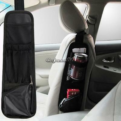 Auto Car Seat Chair Side Mount Storage Multi-Pocket Hanging Net Bag CaF8 01