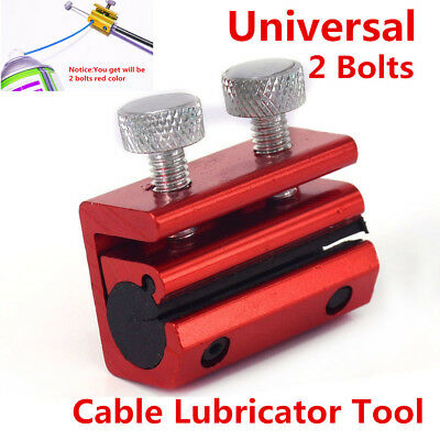 Motorcycle ATV Cable Lubricator Tool Brake Clutch Luber Oiler 2 Bolts for Ducati