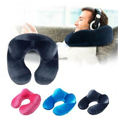 Memory Foam Pillow Neck U-Shape Headrest Car Flight Travel Soft Nursing CushionC