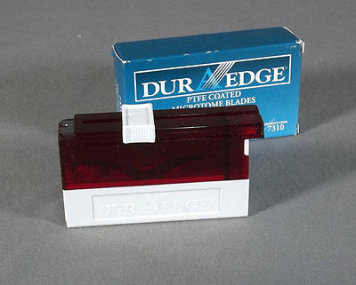 50 DuraEdge 7310 PTFE Coated High Profile Disposable Microtome Blades