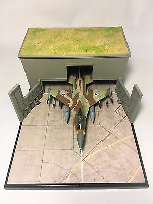Noy's Miniatures 1/72 Built F-16 Hardened Aircraft Shelter Diorama