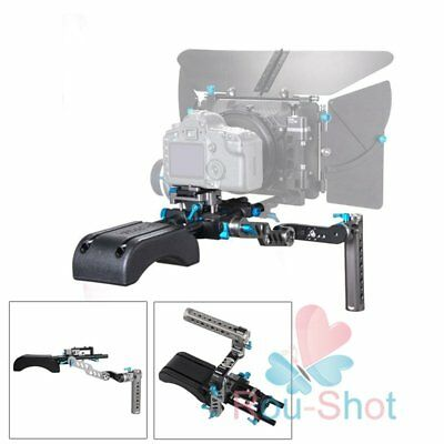 FOTGA DP500III QR 0.59in Rod Base Plate + Handle Grip Rig + DP3000 Shoulder Pad