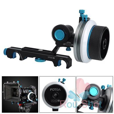 Fotga DP500III QR Dampen Follow Focus A/B Hard Stop 19mm/0.75in Rod Rig【AU】