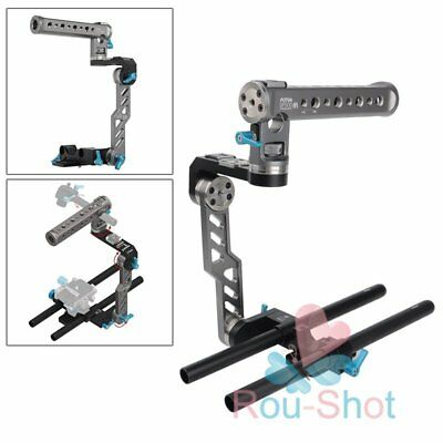FOTGA Top Handle Holder Cage&Front Grip Rig for DP500III DSLR Camrea BMPCC【AU】