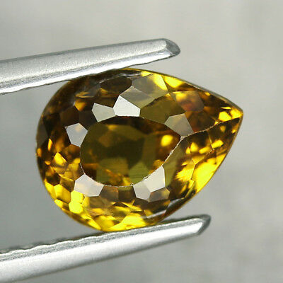 1.68CT. 7.5x6mm NATURAL MALI GARNET GLOSSULAR Pear Yellow / S01463