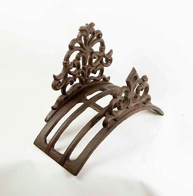 Hose Holder Cast Iron Formal Decorative Hose Reel Hanger Antique Rust Mr Gecko