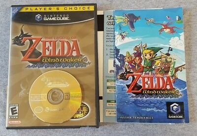 Legend of Zelda Wind Waker Nintendo GameCube Game Complete