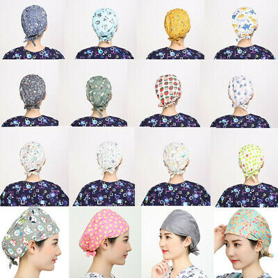 Fashion Doctor/Nurse Colorful Printed Scrub Surgery Medical Surgical Hat/Cap New
