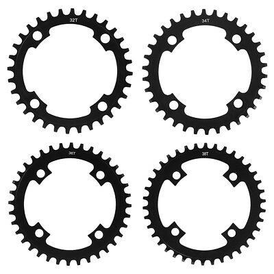 Single Tooth Narrow Wide MTB Bike Chain Ring Chainring 104 BCD 32T/34T/36T/38T