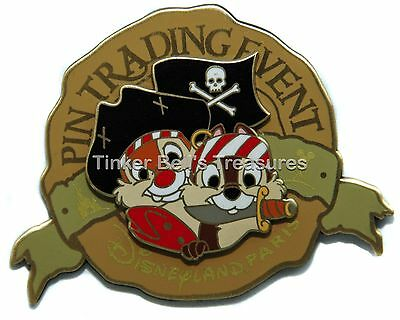 DISNEY Pin LE 400 DLP - Chip & Dale - Pin Trading Pin - The Pin'Hunt Event