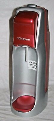 Sodastream Jet A200 Soda Maker Machine Only Red / Gray - Used / Working