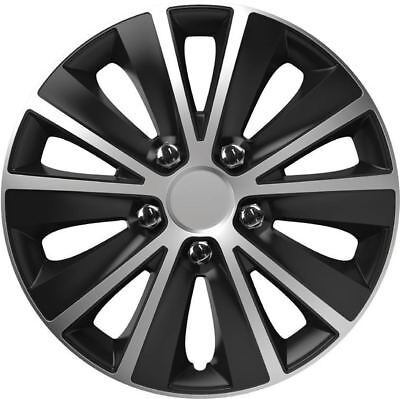 """4X 14"""" Inch Rapide Nc Wheel Trims Cover Hub Caps For Toyota Yaris All Models"""