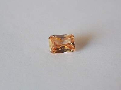 Loose Cubic Zirconia Champagne AAA Octagon 8mm x 6mm - Brand New! Bargain Price