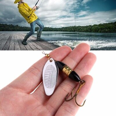 8.5cm 1/5Pcs Hard Fishing Spoon Lure Metal Jigging Baits Spinner Carp Crankbait