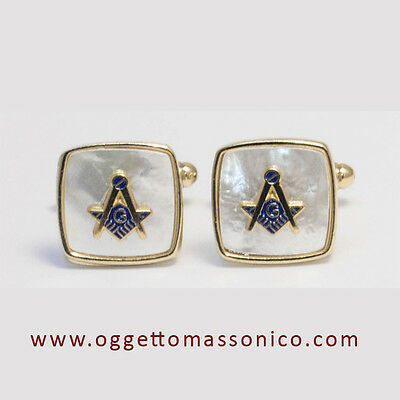 Massoneria Gemelli Massonici / Freemasonry Masonic Cufflinks