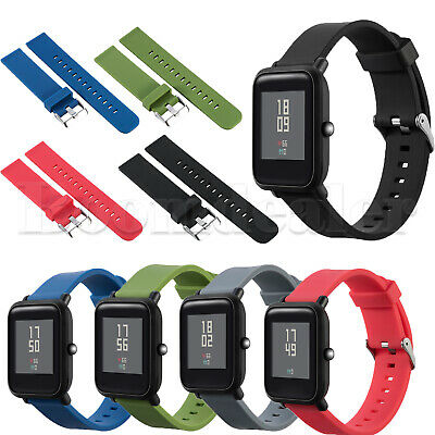 Silicone Wristband Straps for Xiaomi Huami Amazfit Bip BIT PACE Lite Youth Watch