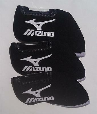 10 x Iron Head Covers - Suit Mizuno - New - Black