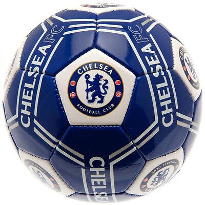 Chelsea Football Club Official Size 5 Soccer Ball Supporters Gift Leather Footy