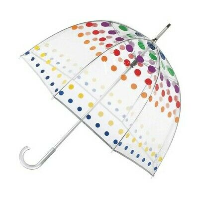 totes Unisex  Signature Manual Bubble Umbrella
