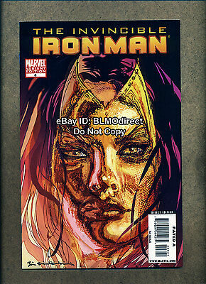 2009 Invincible Iron Man #8 VF/NM Bill Sienkiewicz Variant Marvel Comics