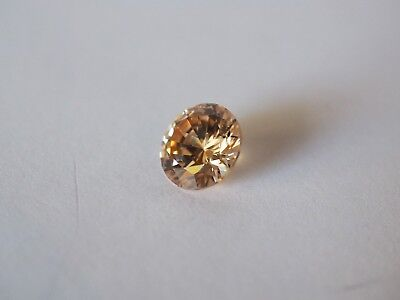 Loose Cubic Zirconia Champagne AAA Round 10mm - Brand New! Bargain Price!