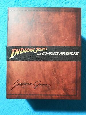 INDIANA JONES The Complete Adventures Teil 1-4 BuRay LIMITED EDITION BOX-Set NEU