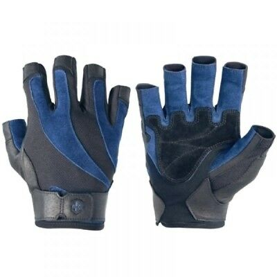 Harbinger Mens Bioflex Weightlifting Gloves W/ Spider Grip Leather -used by girl