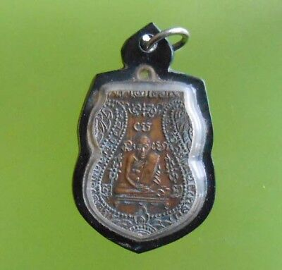 Top! Real Lp Grun Old Thai Buddha Amulet Very Rare !!!