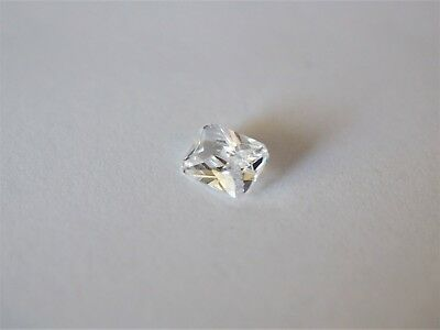 Loose Cubic Zirconia White AAA Octagon 8mm x 6mm  - Brand New! Bargain Price!