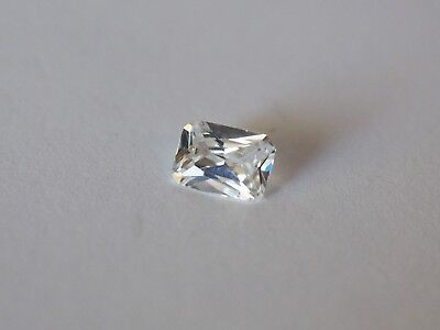 Loose Cubic Zirconia White AAA Octagon 7mm x 5mm  - Brand New! Bargain Price!