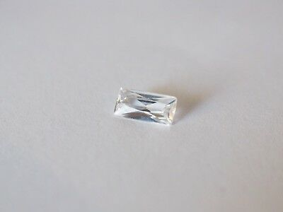 Loose Cubic Zirconia White AAA Baguette 8mm x 4mm - Brand New! Bargain Price!