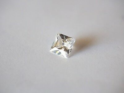 Loose Cubic Zirconia White AAA Square 8mm x 8mm - Brand New! Bargain Price!