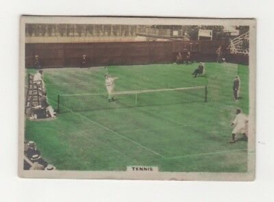 Cavanders Tennis Cigarette Card