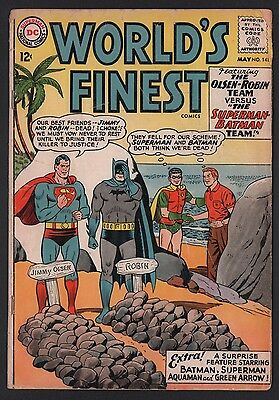 World's Finest #141 G+ 2.5 Cream Pages