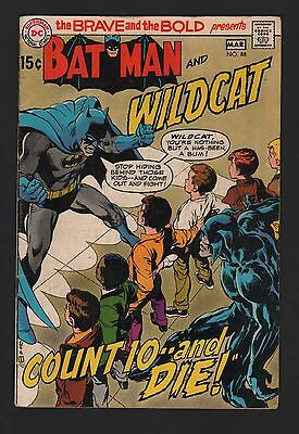 Brave and the Bold #88 VG- 3.5 Off White Pages
