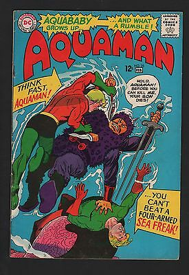 Aquaman #25 G/VG 3.0 Cream to Off White Pages