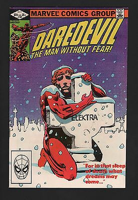 Daredevil #182 F- 5.5 Off White Pages Frank Miller