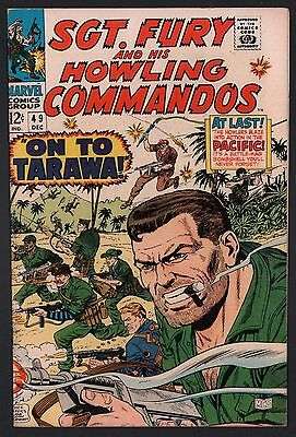 Sgt. Fury & His Howling Commandos #49 VF- 7.5 Off White to White Pages