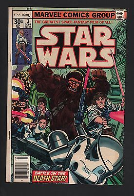 Star Wars #3 VG 4.0 Cream to Off White Pages