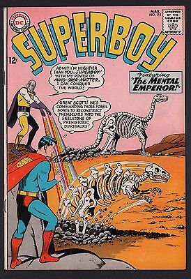 Superboy #111 F 6.0 White Pages